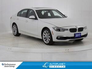 2017 BMW 330i xDrive, Navi, Sunroof, Heated Seats!