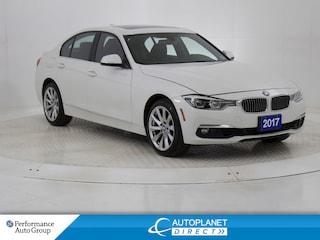 2017 BMW 330i xDrive, Navi, Sunroof, Heated Seats! Sedan