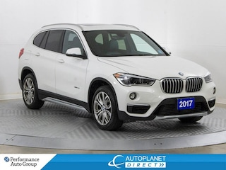 2017 BMW X1 xDrive28i, Premium Pkg, Pano Roof, Back Up Cam! Wagon