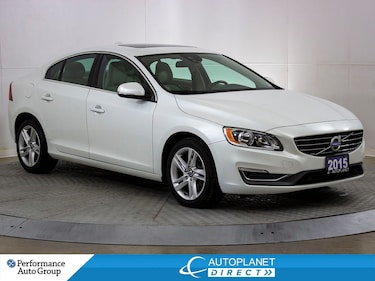 2015 Volvo S60 Premier Plus AWD, Back Up Cam, Sunroof! Sedan