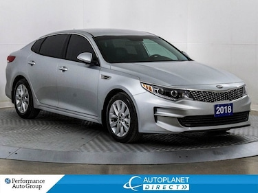 2018 Kia Optima EX, Back Up Cam, Apple CarPlay, Android Auto! Sedan