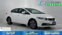 2013 Honda Civic EX, Sunroof, Back Up Cam, Heated Seats! Sedan