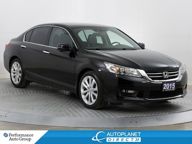 2015 Honda Accord Touring, Navi, Back Up Cam, Moon Roof! Sedan