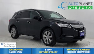2015 Acura MDX AWD, Elite Pkg, Navi, Back Up Cam, Sunroof!