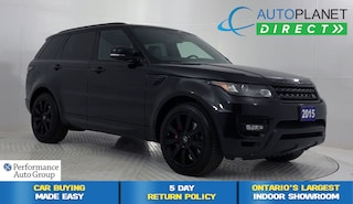 2015 Land Rover Range Rover Sport V8 Supercharged 4WD, Navi, Moon Roof! SUV