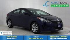 2013 Hyundai Elantra GL, Heated Seats, Ontario Vehicle! Sedan