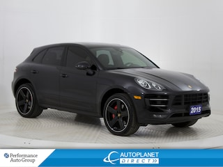 2015 Porsche Macan Turbo AWD, Navi, Pano Roof, Back Up Cam! SUV