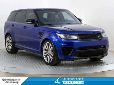 2016 Land Rover Range Rover Sport V8 SVR Supercharged 4x4, Heads Up Display! SUV