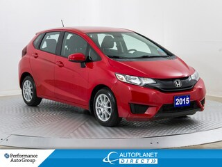 2015 Honda Fit LX, Back Up Cam, Heated Seats, Bluetooth! Hatchback