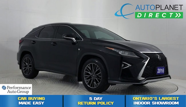 2016 LEXUS RX 350 AWD, F Sport Series 2, Navi, Back Up Cam! SUV