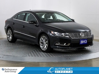 2013 Volkswagen CC Highline, Pano Roof, Memory Seat, Bluetooth! Sedan