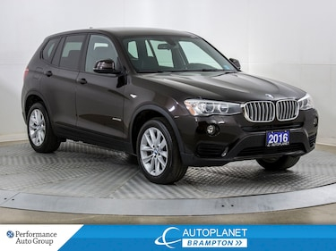 2016 BMW X3 xDrive28i, Back Up Cam, Heated Seats, Bluetooth! SAV
