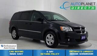 2016 Dodge Grand Caravan Crew, Alloys, Ontario Vehicle, Stow N Go! Minivan