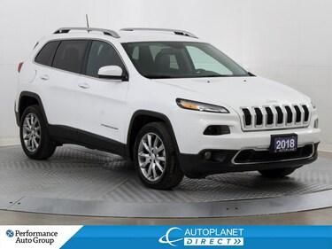 2018 Jeep Cherokee Limited, Navi, Back Up Cam, Remote Start! SUV