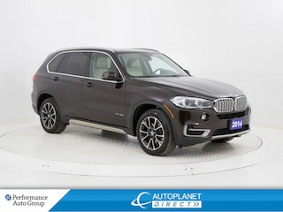 2014 BMW X5 xDrive35d, Premium Pkg, Navi, Heads Up Display! SUV