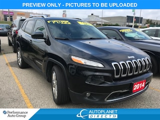 2014 Jeep Cherokee Limited, Luxury Group, Navi, Back Up Cam! SUV
