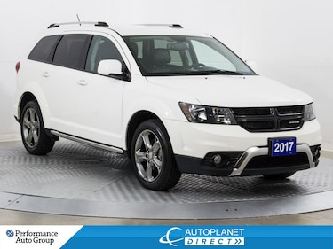 2017 Dodge Journey Crossroad AWD, Heated Seats, Remote Start! SUV