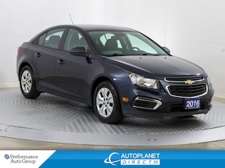 2016 Chevrolet Cruze 1LS, Engine Immobilizer, Keyless! Sedan