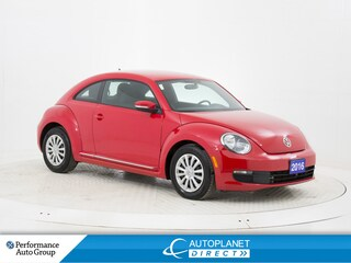 2016 Volkswagen Beetle 1.8 TSI Trendline, Back Up Cam, Bluetooth! Hatchback
