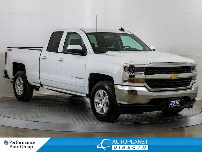 2018 Chevrolet Silverado 1500 1LT 4x4, Back Up Cam, OnStar, Bluetooth! Truck Double Cab