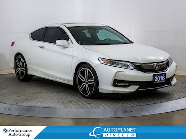 2016 Honda Accord Touring, Navi, Sunroof, Leather, Bluetooth! Coupe