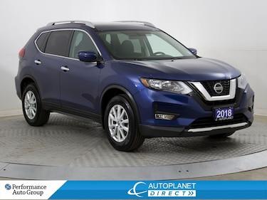 2018 Nissan Rogue SV AWD, Back Up Cam, Pano Roof, Bluetooth! SUV