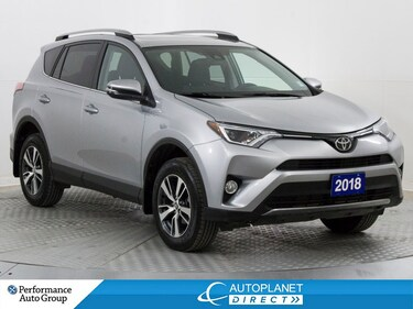 2018 Toyota RAV4 XLE AWD, Moon Roof, Back Up Cam, Heated Seats! SUV
