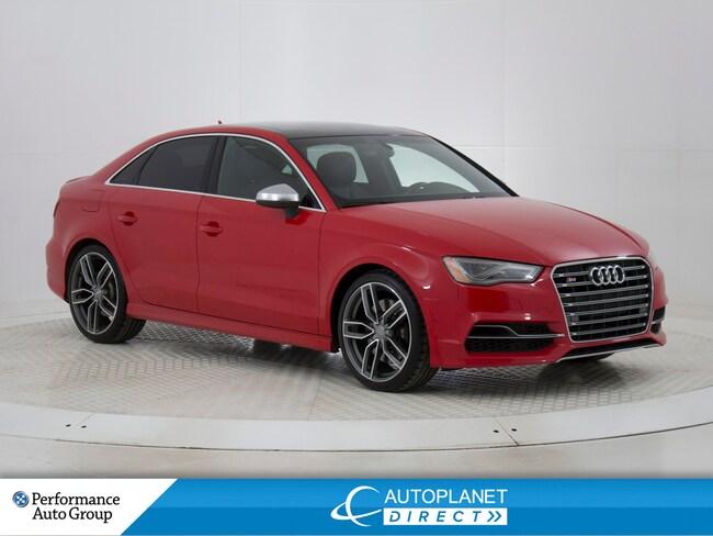 2015 Audi S3 /A3 Quattro, Technik, Navi, Magnetic Ride! Sedan