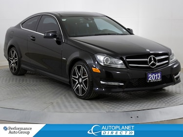 2013 Mercedes-Benz C-Class C250 Coupe, 4 Passenger, Back Up Cam, Pano Roof! Coupe