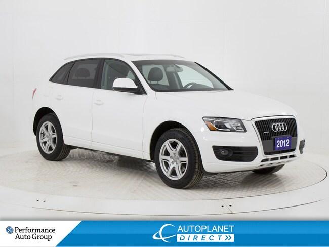 2012 Audi Q5 2.0T Quattro, Premium, Sunroof, Heated Seats! SUV