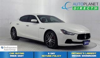 2014 Maserati Ghibli Q4 AWD, Navi, Park View Back Up Cam, Sunroof! Coupe
