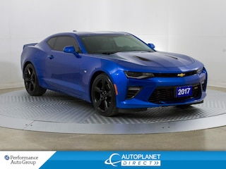 2017 Chevrolet Camaro 2SS, Heads Up Display, Navi, Teen Driver Tech! Coupe