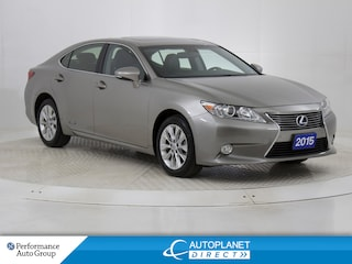 2015 LEXUS ES 300h Touring, Navi, Sunroof, Back Up Cam! Sedan