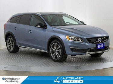 2017 Volvo V60 T5 AWD, Premium Pkg with Climate and Tech Conv.! Wagon