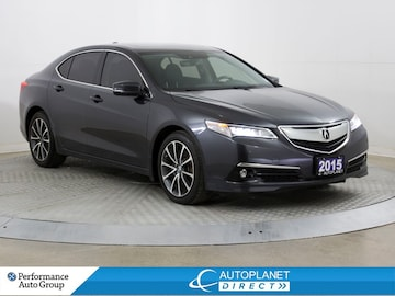2015 Acura TLX P-AWS, Elite, Navi, Back Up Cam, Sunroof! Sedan