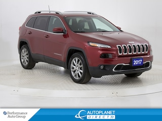 2017 Jeep Cherokee Limited 4x4, Luxury, Navi, Command View Pano Roof! SUV