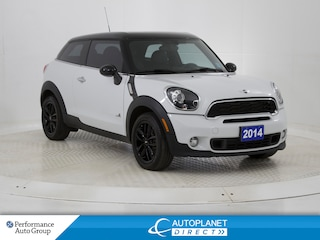 2014 MINI Cooper Paceman Cooper S AWD, Heated Seats, Engine Immobilizer! Hatchback