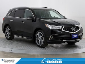 2017 Acura MDX AWD, Elite Pkg, 7 Passenger, Navi, Back Up Cam!