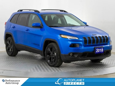 2018 Jeep Cherokee ,Limited High Altitude, SafetyTec+Tech+Luxury Grp! SUV