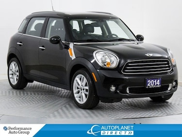 2014 MINI Cooper Countryman Sunroof, Heated Seats, Bluetooth! Wagon