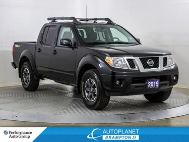 2019 Nissan Frontier PRO, 4x4, Navi, Sunroof, Back Up Cam! Truck Crew Cab