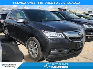 2015 Acura MDX AWD, Tech Pkg, Back Up Cam, Sunroof, Bluetooth! SUV