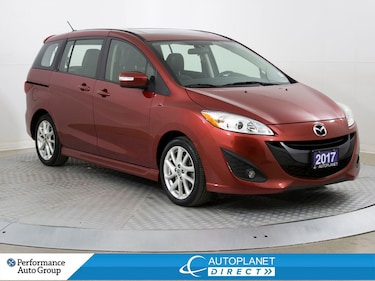 2017 Mazda Mazda5 GT, Park Assist, Leather, Keyless Entry! Minivan