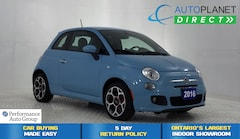 2016 Fiat 500 Sport, Bluetooth, Spoiler, Keyless! Hatchback