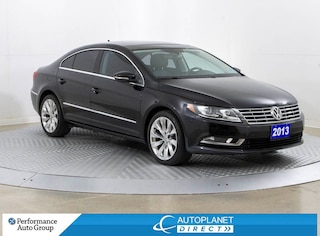 2013 Volkswagen CC Sportline, Navi, Sunroof, Heated Seats, Leather! Sedan