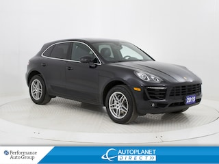 2015 Porsche Macan S AWD, Pano Roof, Back Up Cam, Cooled Seats! SUV