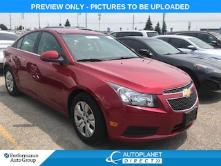 2014 Chevrolet Cruze 1LT, Wifi Hot Spot, Bluetooth, Ontario Vehicle! Sedan