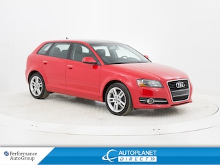 2012 Audi A3 2.0T Progressiv Front Trak, Sunroof, Bluetooth! Hatchback