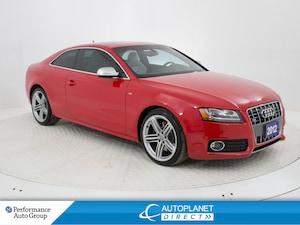 2012 Audi S5 4.2 Quattro, Premium, Navi, Sunroof, Heated Seats!