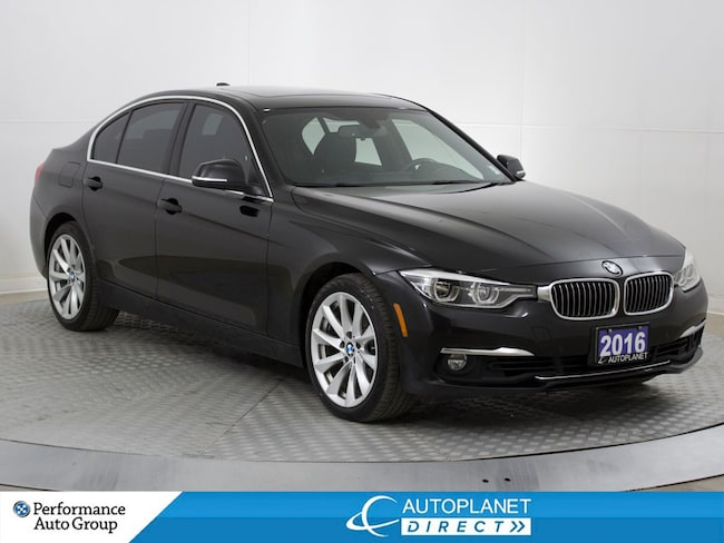 2016 BMW 328i xDrive, Navi, Back Up Cam, Memory Seats! Sedan